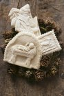 Biscotti di Natale Springerle — Foto stock