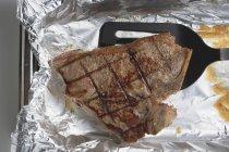 T-bone steak alla griglia — Foto stock