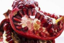 Opened ripe pomegranate — Stock Photo