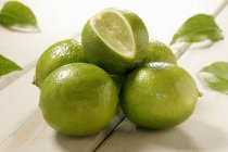 Limes de mûres fraîches — Photo de stock
