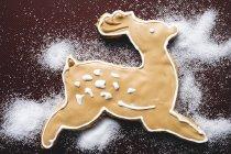 Navidad Galleta de reno - foto de stock