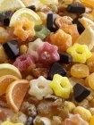 Gelee-Ringe, geleerte Früchte — Stockfoto