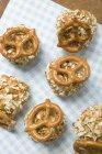Piccole palline di Obatzda - diffusione di Camembert — Foto stock