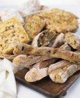 Vari tipi di pane — Foto stock