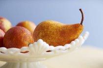 Poires et oranges sanguines — Photo de stock