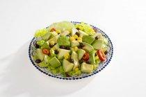 Plate of Avocado Salad — Stock Photo