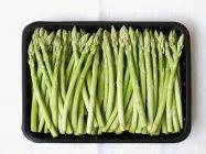 Asparagi verdi maturi — Foto stock
