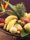 Екзотичні фрукти Натюрморт — стокове фото