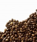 Chicchi di caffè tostati — Foto stock
