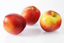 Nettarine mature fresche — Foto stock