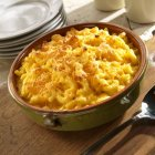 Fromage et macaroni au four — Photo de stock