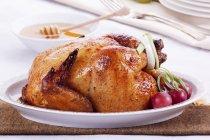 Pollo arrosto con miele — Foto stock