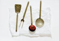 Old kitchen utensils — Stock Photo