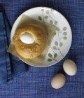 Pane dolce di Pasqua — Foto stock