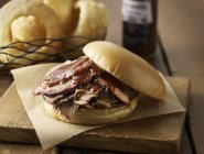 Barbecue Beef Sandwich — Foto stock