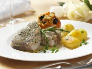 Bistecche di pesce spada — Foto stock