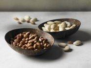 Bol de haricots secs — Photo de stock