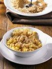 Fried gewürfelte Kartoffeln — Stockfoto