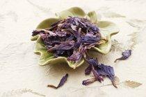 Flores secas de borraja - foto de stock