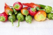 Асорті свіжий перець — стокове фото