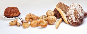 Хліб хліба та хлібобулочних виробів — стокове фото
