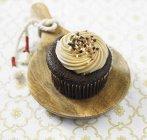 Karamell Schokolade Cupcake — Stockfoto