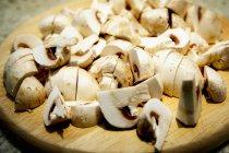 Fresh Button Mushrooms — Stock Photo