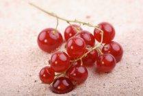 Стиглі redcurrants піску — стокове фото