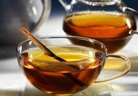 Chá de ervas com canela — Fotografia de Stock