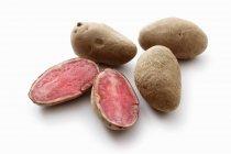 Highland Burgundy Red Kartoffeln — Stockfoto