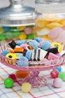 Солодощами та цукерками солодка гола — стокове фото