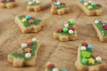 Decorate i biscotti per Natale — Foto stock