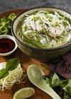 Zuppa di pollo pho — Foto stock