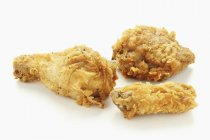 Deep-fried chicken pieces — Stock Photo
