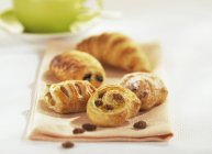 Filled Danish pastries — Stock Photo