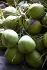 Noce di cocco verde freschi — Foto stock