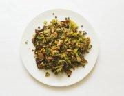 Грибной салат — стоковое фото