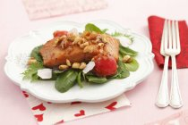 Filetti di salmone arrosti — Foto stock