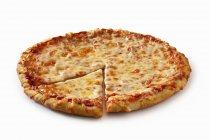 Gebackener Käse Pizza — Stockfoto