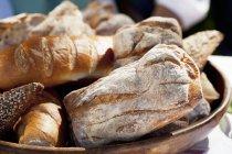 Nacos de pão diferente — Fotografia de Stock