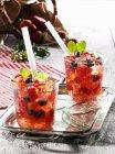 Punzone della fragola di estate — Foto stock
