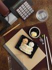 Palline di riso e tempura in riso — Foto stock