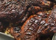 Grillé d'épaule d'agneau — Photo de stock