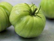 Зелений біфштекс помідори — стокове фото