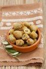 Olive fritte impanate — Foto stock