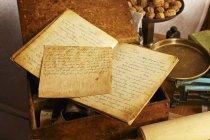 Handschriftliche Rezept-Buch — Stockfoto