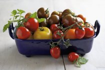 Pomodori freschi maturi — Foto stock