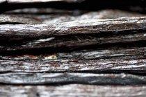 Gousses de vanille dans le tas — Photo de stock