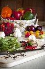 Ají con tomates - foto de stock