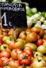 Свіжі стиглих помідорів — стокове фото